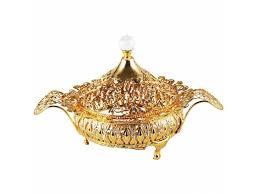 Compote De Table Plateau De Service De Style Oriental En Acier
