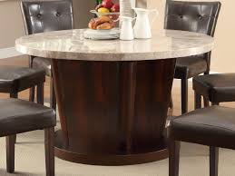 round marble top dining table the new way home decor marble dining table for right occasion