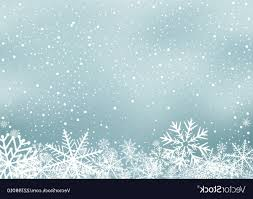 Winter Holiday Background With Snow Vector Savoyuptown