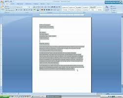 Letter Format Word 2010 Business Letter Format Microsoft Word Theveliger