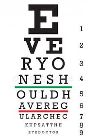 Snellen Chart Free Download Eye Chart Stock Pictures Royalty Free An Eye Chart