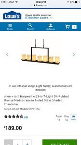 allen roth 7 light oil rubbed bronze chandelier for in stockton ca offerup