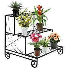 metal plant stands best choice s 3 tier metal plant stand decorative planter holder flower pot metal plant stands