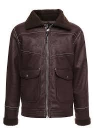 romain faux leather jacket demitasse