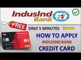 apply indusind bank credit card