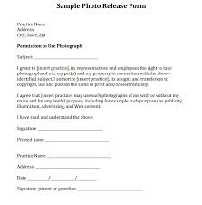 Media Release Form General 1 Impression Or Example School – Onbo Tenan