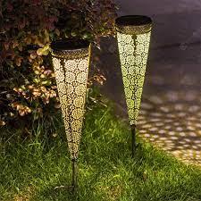waterproof outdoor solar garden