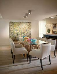 dining lighting. Contemporary White Dining Room With Recessed Lighting A