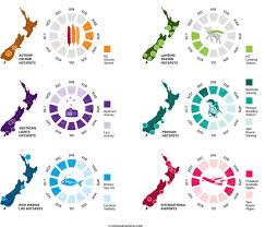 best time to visit nz infographic