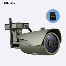 <b>FUERS</b> Waterproof Real time Viewing WiFi <b>IP Camera</b> Full <b>HD</b> ...