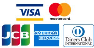 クレジットカード支払いが可能です。