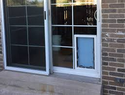 why install a sliding glass dog door
