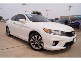 honda accord 2015 white.  2015 2015 Honda Accord Coupe Vehicle Photo In McKinney TX 75070 On White O