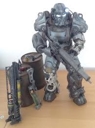Power Armor Display Stand Science Fiction Fantasy Adventure Fallout Collections 71