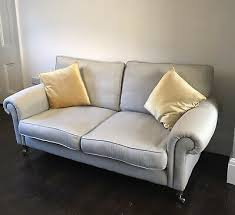 LAURA ASHLEY KINGSTON sofa in dove grey - £450.00   PicClick UK