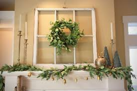 Fairy Lights For Mantle Christmas Mantle Inspiration Minimalist Decoration For The