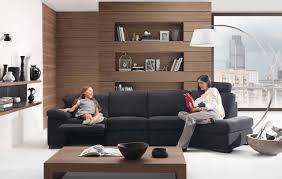 modern black white minimalist furniture interior. Minimalist Living Room Interior. Modern Furniture Black White Interior