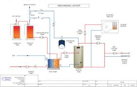 piping diagram heat pump data wiring diagrams \u2022 Condensing Unit Piping Diagram water to heat pump fan coil radiant floor schematic shine rh shine energy com piping diagram