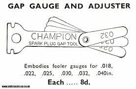 Ngk Gap Chart Champion Spark Plugs Gap Chart Gap Ngk Spark Plug