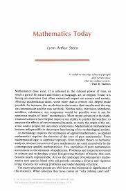 mathematics today twelve informal essays springer mathematics today twelve informal essays mathematics today twelve informal essays
