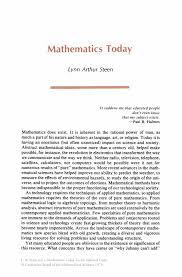 mathematics today twelve informal essays springer mathematics today twelve informal essays mathematics today twelve informal essays