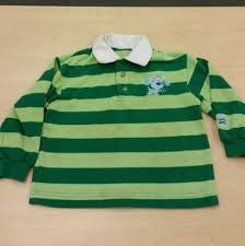 green striped steve rugby shirt from blues clues costume size 3 4