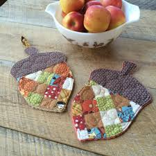 Quilted Potholder Patterns Magnificent Inspiration Ideas