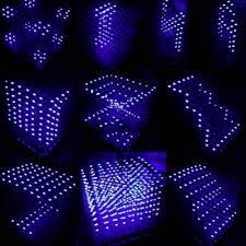 Wishful Led Grow Lights Lowered 3d Squared Diy Kit 8x8x8 3mm Led Cube White Led Blue