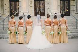 22 glamorous gold bridesmaid dresses ideas you can t miss