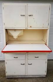antique original 1934 ers kitchen hoosier cabinet with flour sifter no 866 1895874281