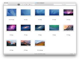 Every Mac wallpaper since OS X Cheetah 10.0