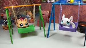 how to make doll furniture. Easy DIY Custom LPS Doll Accessories: How To Make A Tiny Swing Set Furniture H