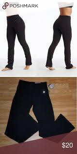Bally Total Fitness Boot Cut Pants These High Waist Semi