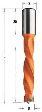 <b>Сверло по дереву</b> CMT 309.075.12 7.5 x 70 мм — купить по ...