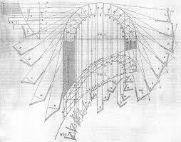 architectural drawings of bridges. Diagram Ilrating The Construction Of Skew Bridges Builder August 1845 Architectural Drawings T