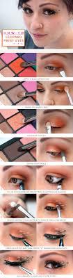 9leopard makeup