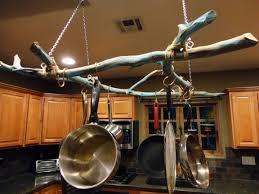 Kitchen Pan Storage Hanging Pot And Pan Rack Ideas Pot And Pan Rack With Awesome Pot