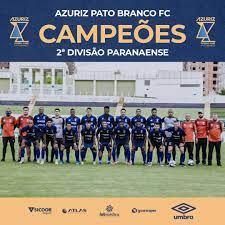 Azuriz Pato é campeão do Campeonato Paranaense 2ª Divisão de 2020
