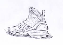 adidas shoes drawing. sketch work // adidas d howard light (2) · artdrawing sketchesshoe shoes drawing s