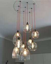 pendant and chandelier lighting. Cluster-pendant-chandelier-mixed-herefor Pendant And Chandelier Lighting