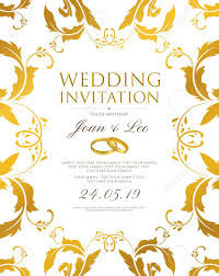 Party Borders For Invitations Wedding Invitation Design Template Save The Date Card Classic