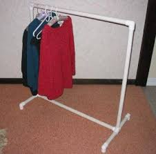 Pvc Pipe Coat Rack Custom How To Build A Clothes Rack With Pipe EHow