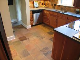 Heated Kitchen Floor Slate Floor Tile Kitchen Floor With Slate Tiles Of Floor Tiles