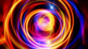 Blue Gold And Red Abstract Video De Stock Totalmente Libre De