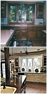 diy painted black kitchen cabinets. This Is One Of The Most Beautiful Kitchen Transformations I Have Seen! Diy Painted Black Cabinets M
