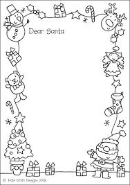 Katesmithdesigns Santa Letter To Colour In
