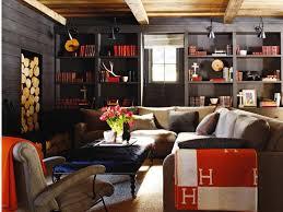 Small Picture Blue Interior Home Design With Americana Decor