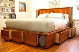 King Size Storage Bed King Platform Storage Bed Plans King Size Beds
