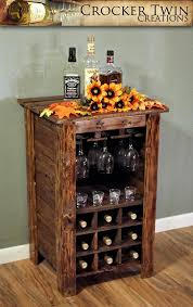 Rustic Wine Cabinet Theboxtccom