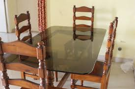 glass dining table with 4 chairs price. glass top wooden dining table with 4 chairs for sale. bangalore price: 12,000 posted by:sumit ray price